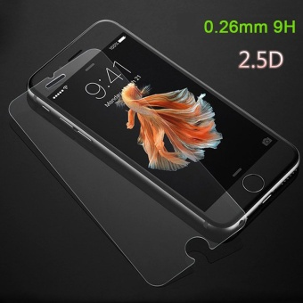 5pcs/pack 0.26mm 2.5D Anti Shatter 9H Protective Premium Film Tempered Glass Screen